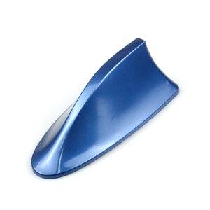 Image 5 - Universal Car Radio Shark Fin Car Shark Antenna Radio FM Signal Design Aerials Antenna Car Styling  For All Car Models