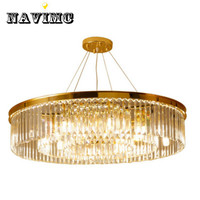 European Crystal Living Room Round light Creative Personality Hall of The Simple Atmospheric Restaurant