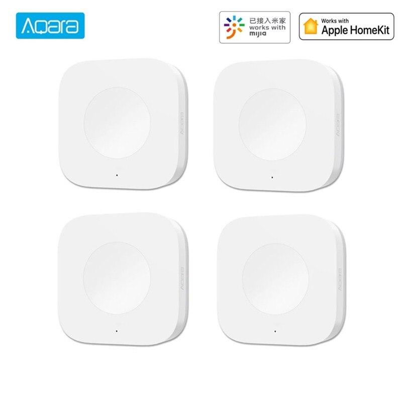 Aqara Smart Wireless Schalter Intelligente Home Anwendung Licht Schalter ZigBee Wifi Verbindung um Eine Taste Steuern Für Türklingel
