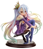 Japanese original version anime figure NO GAME NO LIFE Shiro action figure collectible model toys for boys