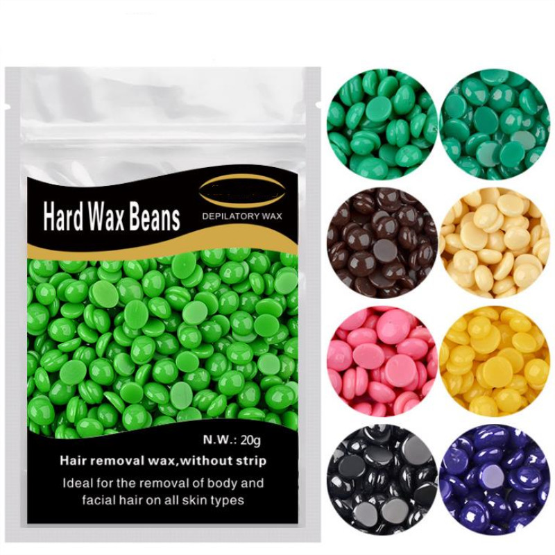 Pro Painless Hard Wax Beans Wax For Depilation Hot Film Wax Waxing For Male Female Epilator Hair Removal Body Beauty