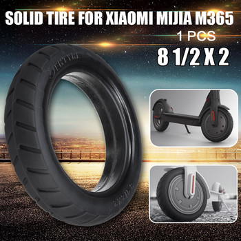 For Xiaomi Mijia M365 Tyre Electric Scooter Tires 8 1/2x2 Durable Thick Wheels Solid Outer Tyres m365 Accessories