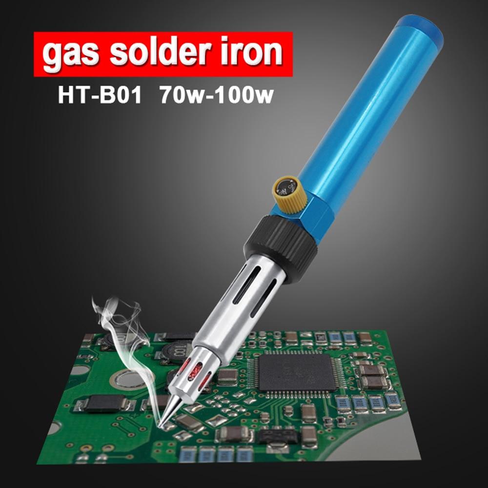 Multifunction Adjustable Temperature Gas Soldering Iron Cordless Welding Pen Burner Butane Blow Torch Soldering Iron Hot Air Gun