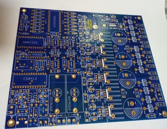 TDA1541 PCB Blank Board Fourth Edition Immersion Gold Board