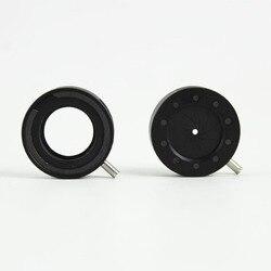 Ouverture mécanique réglable de diaphragme d'iris de 1-12mm pour le condensateur de moniteur d'adaptateur de caméra de Microscope