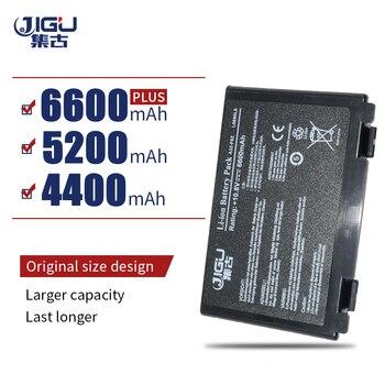 JIGU yedek dizüstü bilgisayar bataryası Asus K50I F82 K50IJ K50IN pil