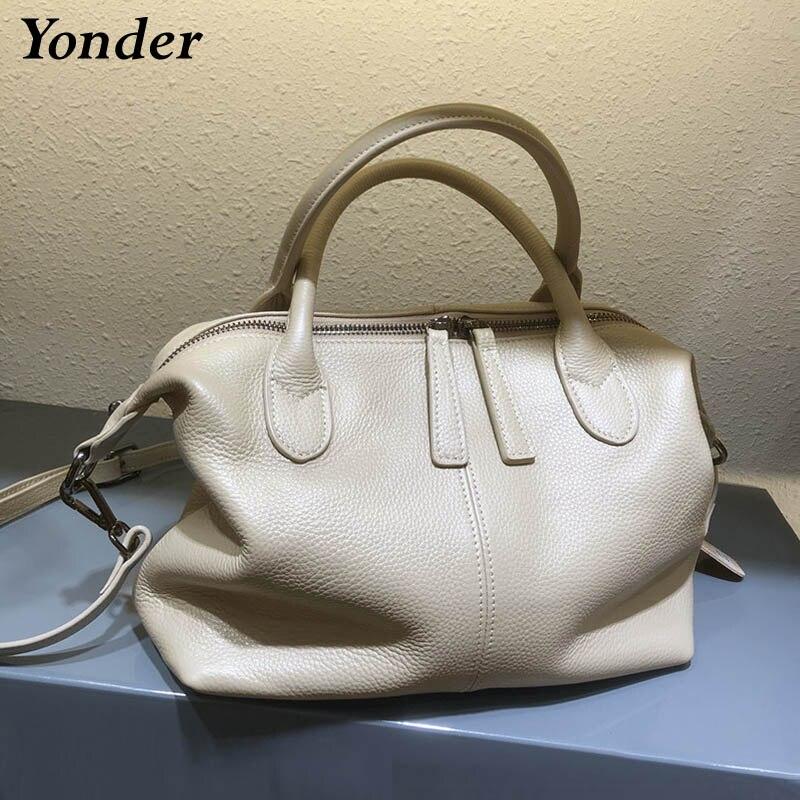 Мягкая коровья натуральная кожа Женская Ручная сумка женская сумка из натуральной кожи сумки на плечо для женщин 2021 модная сумка-мессендже...