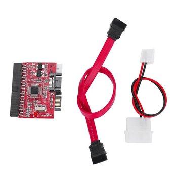цена на 1Pcs High Quality IDE TO SATA PCI Card 100/133 HDD/CD/DVD Converter Adapter