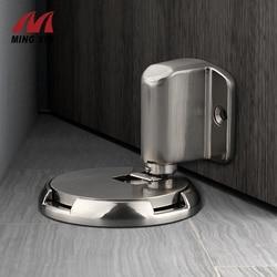 MX Heavy Door Stopper Machinery Fixed Non-Magnetic Door Stop Device Windproof Closedoor Non-Nail Installation Furniture Hardware