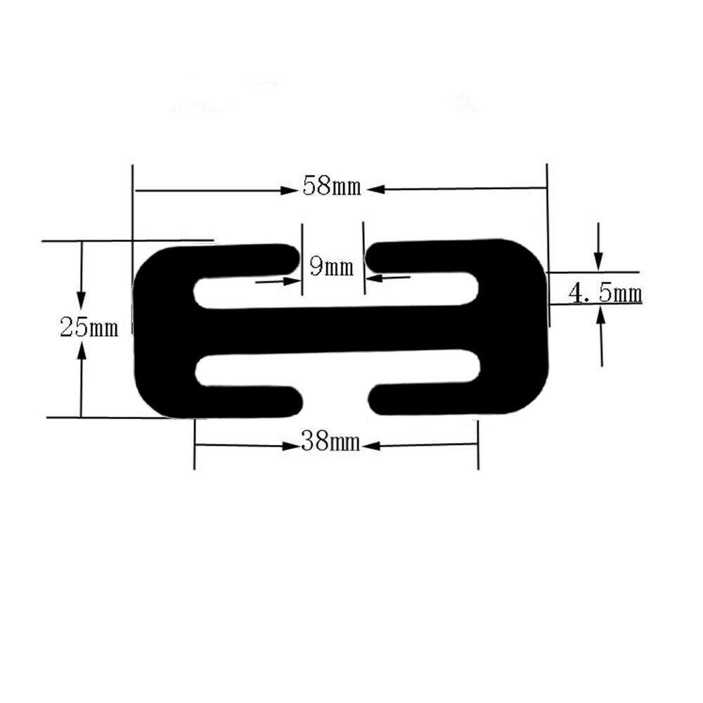 Image 3 - 38MM/52MM Car Metal Safety Seat Belt Adjuster Automotive Locking Clip Belt Strap Clamp Shoulder Buckle For Adult Children-in Seat Belts & Padding from Automobiles & Motorcycles