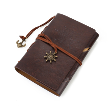 лучшая цена Retro Classic Notebook Jotter Travel Journal Diary w/ Spiral Ring Binder
