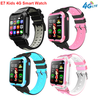 Newest E7 4G Kids Child Smart Watch GPS WIFI Tracking Voice Video Call Chat Pedometer Messgae Push for Boys Gilrs Students