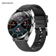 SENBONO-reloj inteligente S80 para hombre y mujer, deportivo, resistente al agua, IP68, control del ritmo cardíaco durante el sueño, android, huawei, IOS, 2020