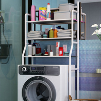 3 Tier Shelf Over Home Kitchen Bathroom Storage Rack Multifunction Toiletries Shelves for Bathroom DIY storage box