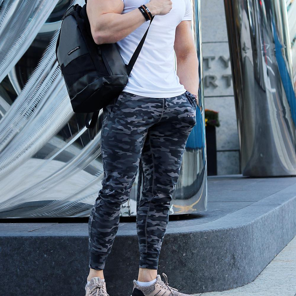 High Quality 2018 Fashion Cargo Full Length Pants Men Camouflage Slim PLUS Size Hip Hop Sweatpants Casual Pants