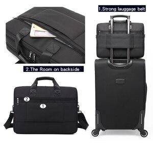 Image 3 - New Brand Laptop Bag 15 15.6 Inch Notebook Shoulder Bag  Handbag for Macbook Pro 15.4 Inch Business Bag for Man