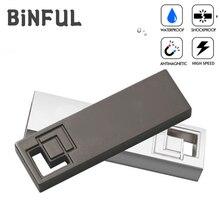 BiNFUL Usb Flash Drive USB 2.0 Waterproof Pen Drive 4GB 8GB 16GB 32GB Pendrive 64GB 128GB 256GB 512GB Flash Disk Free Print Logo