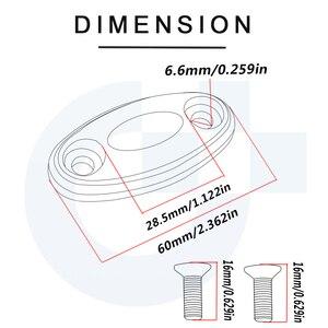 Image 2 - CNC Nhôm Xe Máy Phụ Kiện Kính Chắn Gió Phía Sau Mặt Gương Chân Đế Lỗ Nắp Kẹp Dành Cho Xe Honda Cbr650f 2019