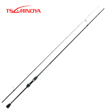 Tsurinoya 2.1m UL 2 Sections Fast Spinning Fishing Rod 1-5g Lure Carbon Fiber Bass Fishing Rods Canne A Peche Fishing Tackle все цены