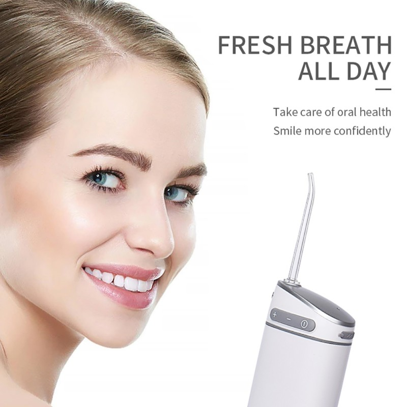 Oral Irrigator Dental Portable USB Rechargeable Water Flosser Life Waterproof Teeth Cleaning Personal Care Appliances Supply