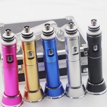 electric wax dabber 3 enails (ceramic enail /titanium enail) included portable vapor G9 henail for water pipe