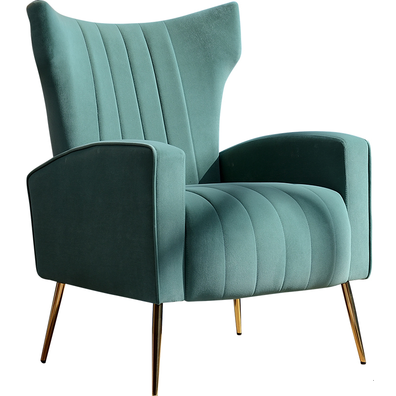 Fabric Art Sofa Chair Modern Simplicity