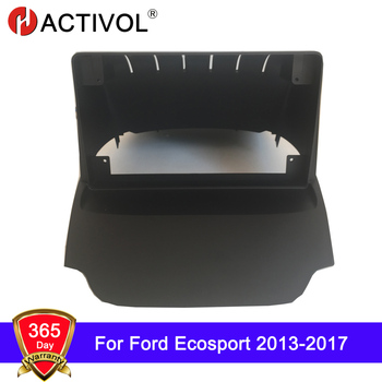 HACTIVOL 2 DIN Car Radio face plate Frame for Ford Ecosport 2013-2017 Car DVD GPS NAVI Player panel dash mount kit car products image