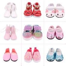 5 cm comprimento 15 adorável doces cores boneca sapatos para escolher para 14.5 Polegada wellie wisher boneca & 32-34 cm paola reina boneca roupas