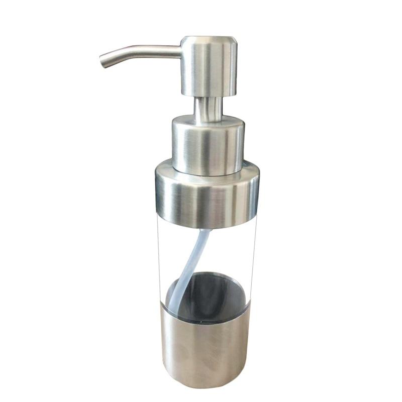 400ml Empty Foaming Hand Soap Dispenser Foam Pump Bottle Bathroom Emulsion Split