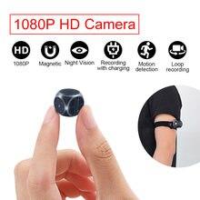 caméra espion cachée Capteur Vision nocturne Mini caméra HD caméscope caméra 1080P caméra moniteur petite caméra surveillance secret