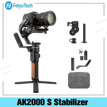 Feiyu Ak2000S Advanced Kit 3 Axis handheld Gimbal Stabilizer for Sony Canon Panasonic Nikon Mirrorless and DSLR Digital Camera