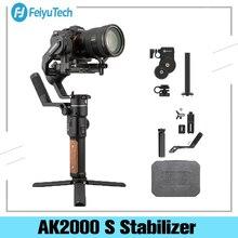 Feiyu Ak2000S zaawansowane zestaw 3 osi ręczny stabilizator Gimbal dla Sony Canon Panasonic Nikon lustra i DSLR aparat cyfrowy