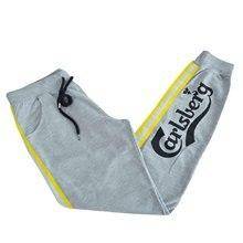 Long Pant Carlsberg size XXL cotton women sport suit gray CBU3082