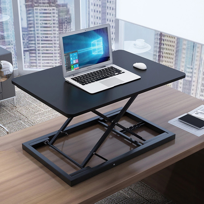 Sit Stand Height Adjustable Desk Conversion Standing Up Work Station Laptop Table Easy Home Office Lift Riser Elevating Desk