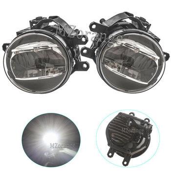 Left Right LED Front Fog Light Lamp  For Toyota Land Cruiser Prado FJ150 2014- 2018 foglight fog lights mzorange free shipping led tail light tail lamp for toyota land cruiser prado lc70 lc76 lc77 lj77 rj77 fzj76 grj76 hzj76 4500