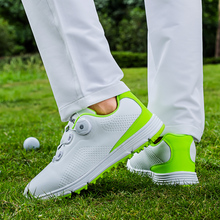 Golf Shoes for Men Quality Leather Men Golf Shoes Waterproof Outdoor Sneakers Spikes Breatheble Anti-slip Shoe Spikes Profession