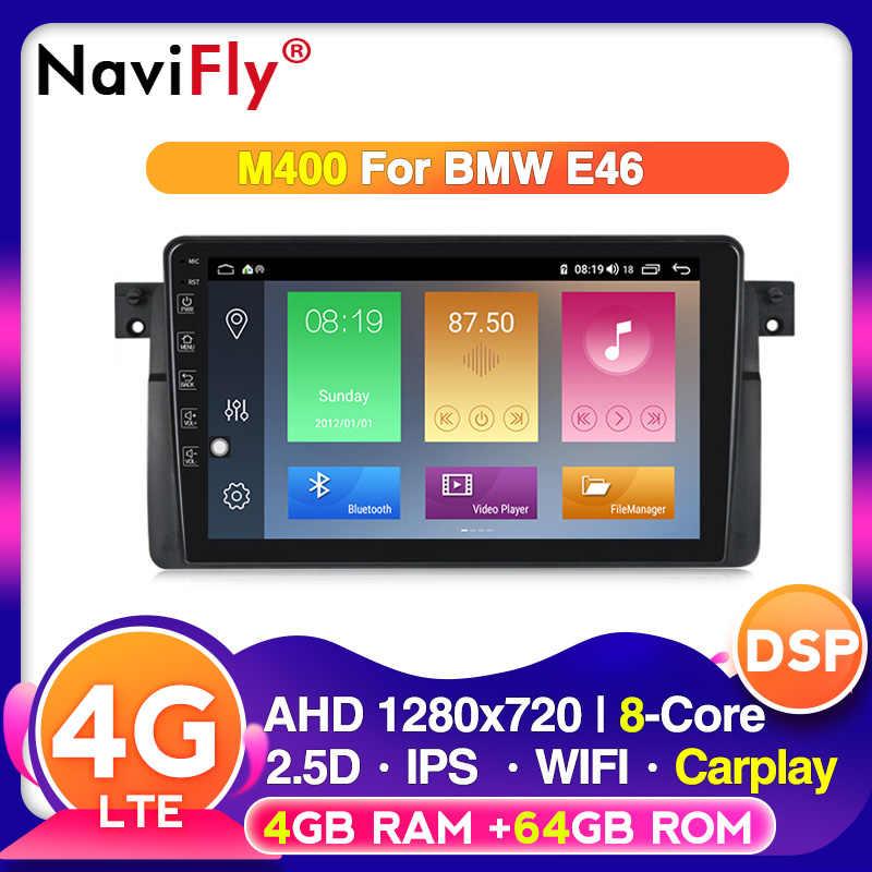 Octa Core Android 10.0 Đồng Hồ Định Vị GPS Cho Xe BMW E46 M3 Rover 75 Coupe 318/320/325/330/335 phát Thanh Xe Hơi RDS Nghe Stereo 4G