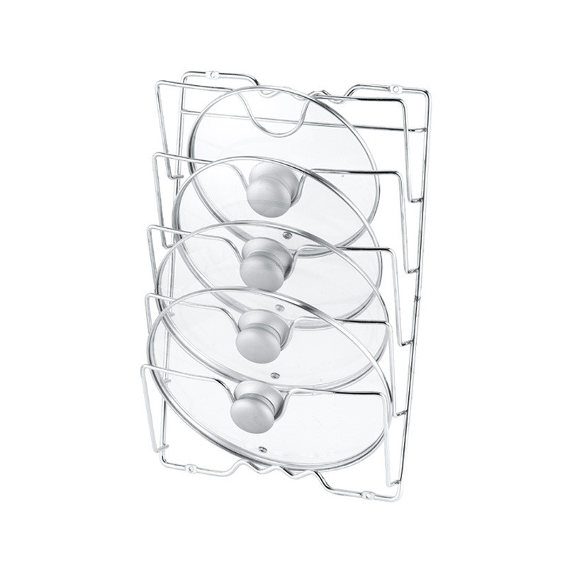 5 Layer Anti-fall Metal Drying Pan Pot Rack (2)