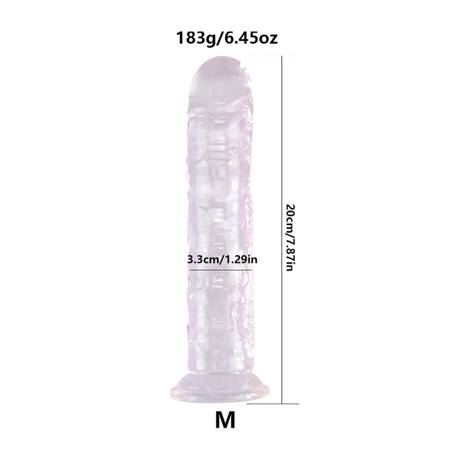 Realistic Dildo With Super Strong Suction Cup
