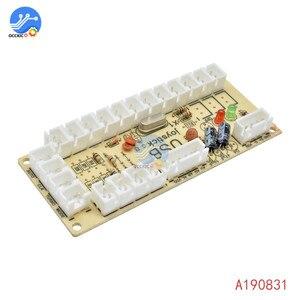 Image 1 - 1 個のゼロ遅延アーケードのusbエンコーダpcジョイスティックアーケードロッカー回路ボード制御パネルmameゲーム