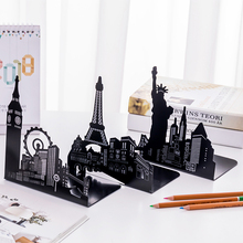 2 / Set Of Famous Architectural Style Book Bookshelves Eiffel Tower Liberty Statue Simple Book Stand Table Storage Supplies