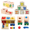 Kids 3D Puzzle Puzzles Toys Wooden Puzzles Brainstorm Hand Grab Boards Toys Tangram Jigsaw Cartoon Vehicle Animals Fruits