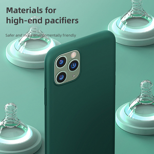 Image 4 - Benks coque de téléphone en Silicone liquide pour iphone 11/11 Pro/11 Pro Max Anti chute Protection complète peau lisse téléphone coque arrière