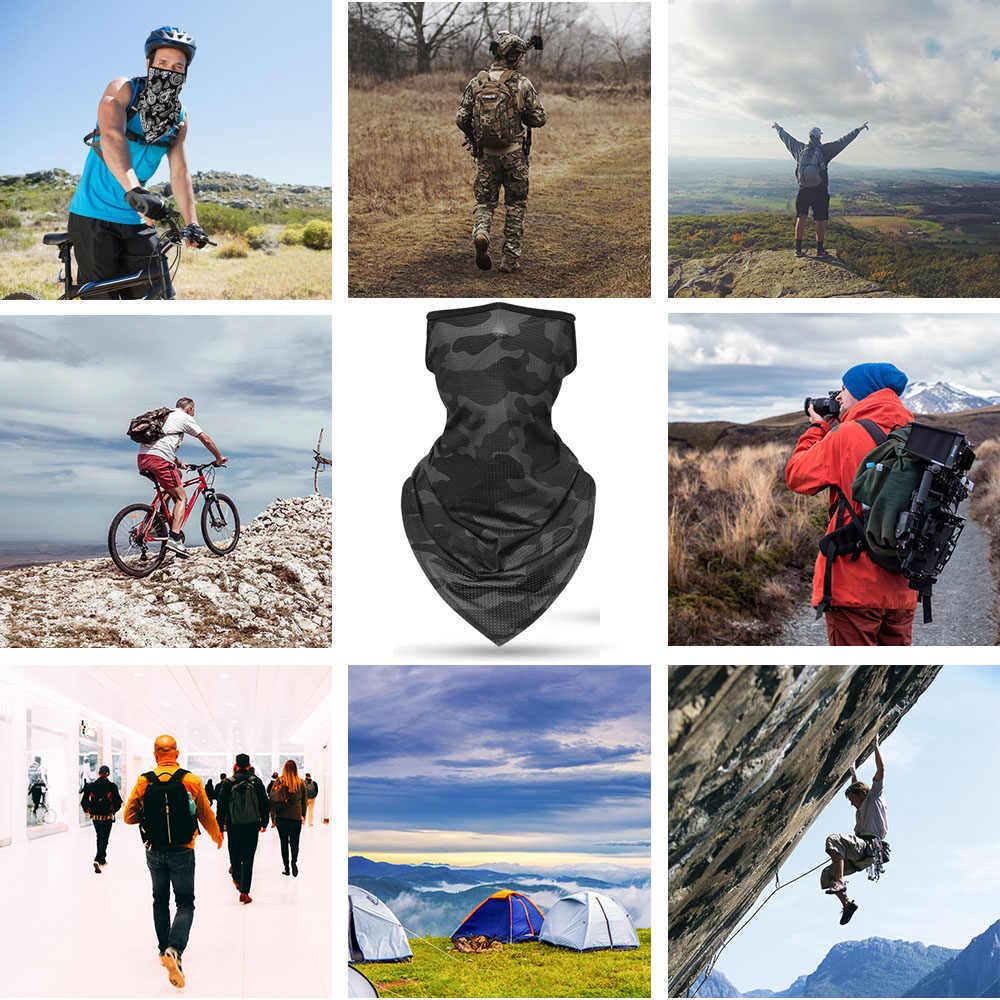 2020 の下着スカーフサイクリングバンダナハイキングキャンプ狩猟ランニング軍自転車軍事戦術ネックカバーゲートル男性