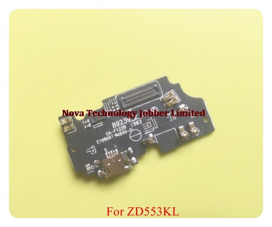 For ASUS Zenfone 3 4 5 6 Max Selfie ZC520TL ZC520KL ZC554KL ZD551KL Micro USB Charger Dock Charging Port Flex Cable Microphone