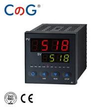 CG AI-518P 32-Segment programowalny regulator temperatury inteligentny cyfrowy proces RS485 protokół MODBUS termostat Pid