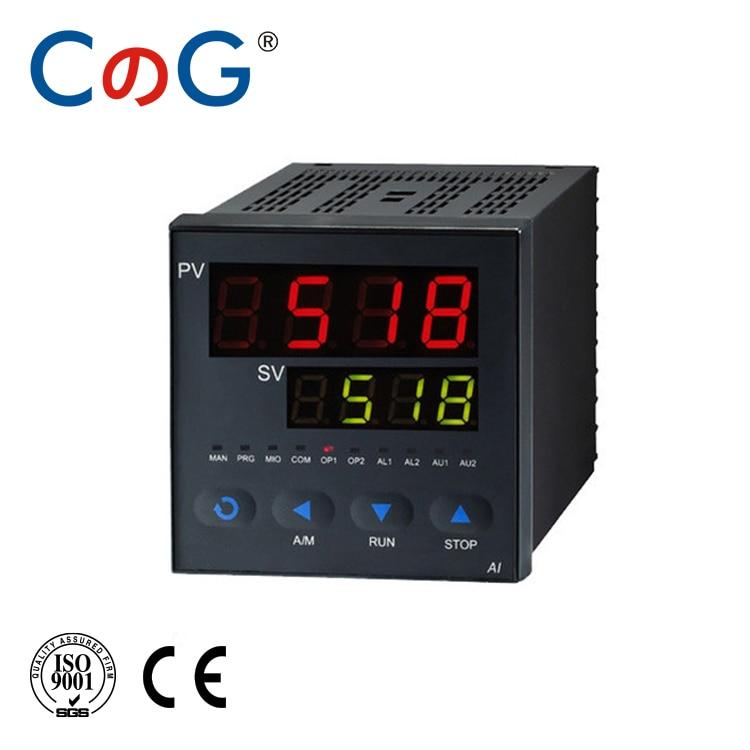 Contrôleur de température Programmable à 32 segments CG AI-518P processus numérique Intelligent RS485 protocole MODBUS Thermostat Pid