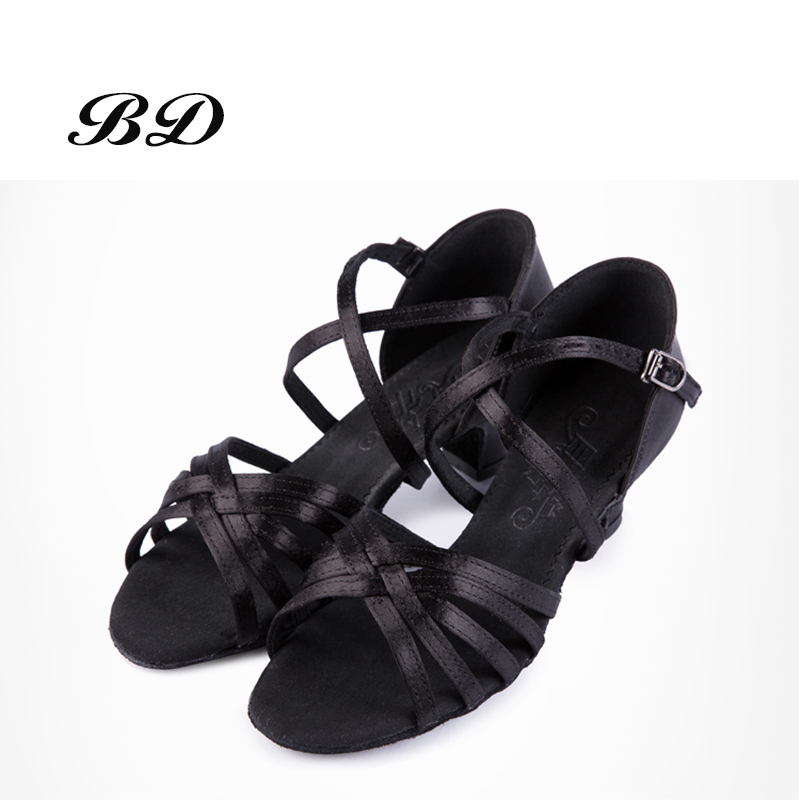 TOP Sneakers BD 603 Children DANCE SHOES Latin Shoes Ballroom Shoe Modern JAZZ Girl Student  Cost-effective Non-slip And Durable