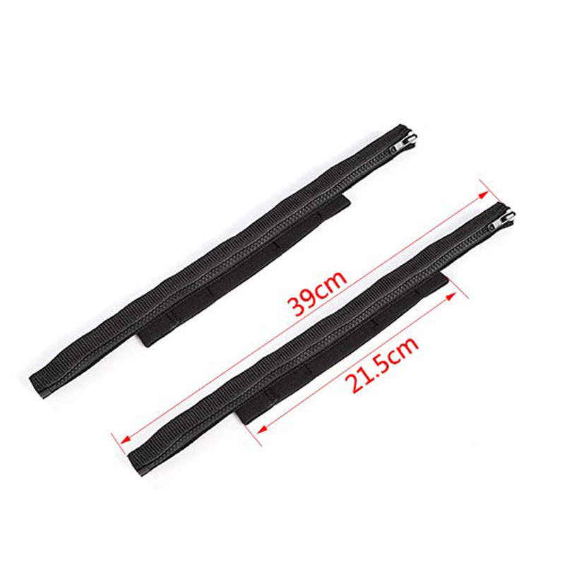 2PCS Door Limiting Strap Hinge Cloth Wire Fabric.For Jeep Wrangler JK 2007-2018