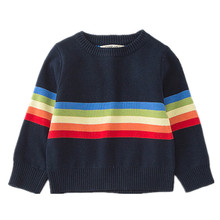 Funfeliz Baby Boys Sweater Autumn Winter Tops Kintted for Girls Long Sleeve Kids Cardigan Children Clothes 12M-6Y